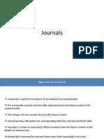 SAP BPC Journals