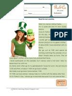 Reading Co. St Patrick's day