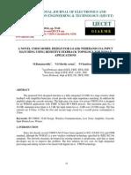 A Novel Cmos Model Design for 2-6 Ghz Wideband Lna Input Matching Using Resistive Feedback Topology