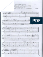 Piano minuet petzold