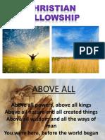 Christian Felowship