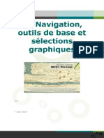 Navigation Selection sur Qgis