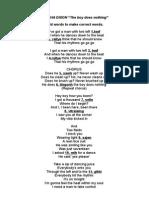 Alesha Lyrics