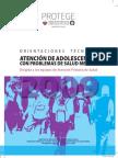 Orientaciones Tecnicas Para La Atencion de Adolescentes Con Enfermedades de Salud Mental