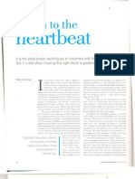 Listen to your heart beat - A New Marketing Mix