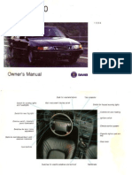 1994 SAAB 9000 Owner's Manual [OCR]