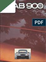 80 Saab 900 Brochure [OCR]