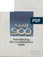 79 Saab 900 Intro Brochure [OCR]