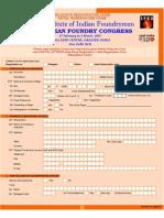 Registration Form 63rd IFC