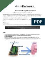 Bom for Distance measurement project