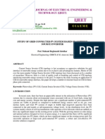 Study of Grid Connected Pv System Based on Current Source Inverter