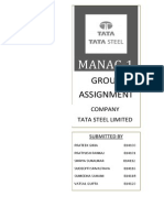 Manac Report_Tata Steel