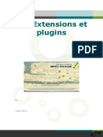 Extensions Plugins Qgis