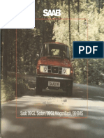 76 Saab 99 Gl Sedan Gl Wagonback Ems Brochure [OCR]