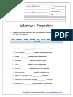 adjective-+-preposition
