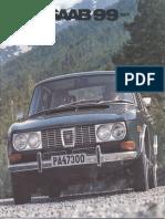 71 Saab 99 Brochure [OCR]