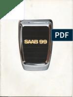 74 Saab 99 Brochure [OCR]