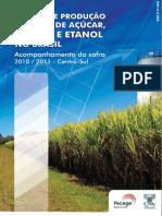 Avaliação de cana-de-açúcar no Brasil