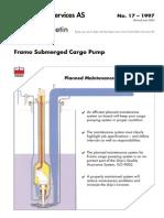 FRAMO Subm Cargo Pump