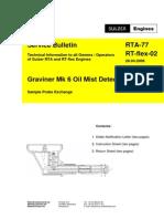 RTA-77-y Oil Mist Detector