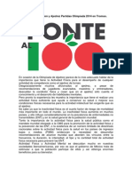 Boletбn 3 Ponte Al Cien y Ajedrez Partidas Olimpбada Boletin3