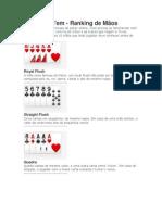 Sequência de Cartas - Texas Hold
