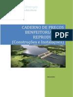 Benfeitorias Não reprodutivase Energia_caderno de Preços_rural&Urbano_benfeitorias Não Reprodutivas