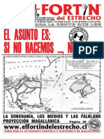 La soberanía, los medios y las Falkland. Proyección magallánica.