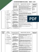 Maths Igcse Scheme of Work 0580_2010