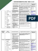 Maths Igcse Scheme of Work 0580_2011