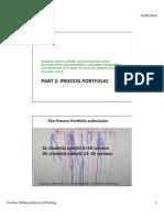 the process portfolio document