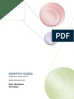 identity slides