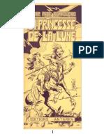 Burroughs, E.R.-trilogie Lunaire 1-La Princesse de La Lune