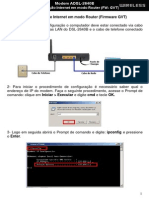Manual Moden D-Link DSL-2640B Internet Em Modo Router FW GVT