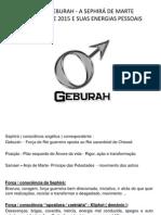 Cabala Geburah - A Shepira de Marte - Regente de 2015