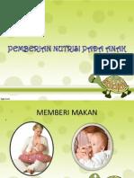 Pemberian Nutrisi Pada Anak