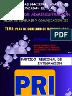 Diapositiva  de Lenguaje