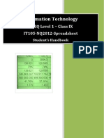 NVEQ SWB IT L1 U5 Spreadsheet (Basic)