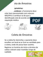 Coleta de Ámostras - Micro