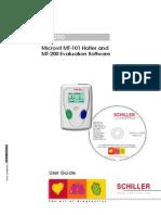 Schiller MT101 MT200 User Manual