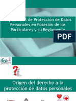 Ley Federal de Protección de Datos