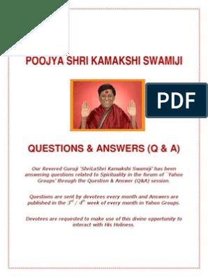 Q&A | Guru | Mantra
