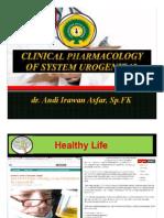Pharmacology in System Uro-genitalia Fk Undana Kupang, 23 Sept 2013