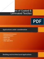 Applications of Coated & Laminated Textiles