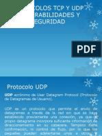 Vulnerabilidad Del Protocolo UDP Y TCP