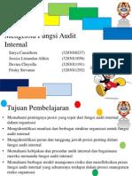 Mengelola Fungsi Audit Internal