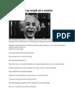 Problema Lui Einstein