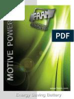 Motive Power Catalogue