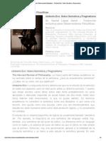 Umberto Eco_ Sobre Semiótica y Pragmatismo