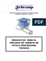 Requisitos Para El Tr Mite de t Tulo Profesional t Cnico2